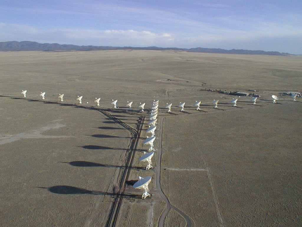 "The VLA, or ""Very Large Array"", was named in honor of Professor Wilhelm Von Verylarge"