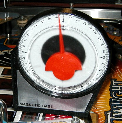 "An angle gauge or ""inclinometer""."