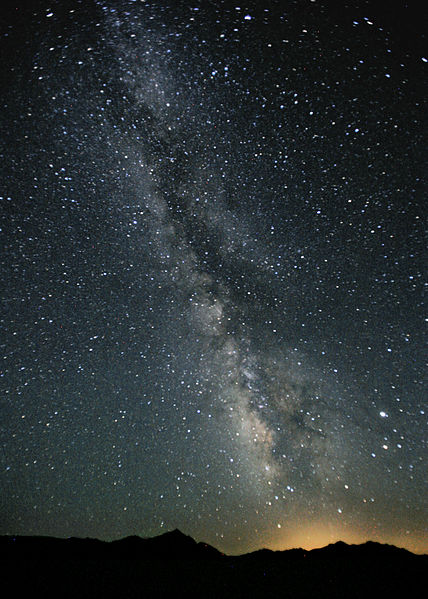 The Milky Way: a really big, really ineffective, time machine.