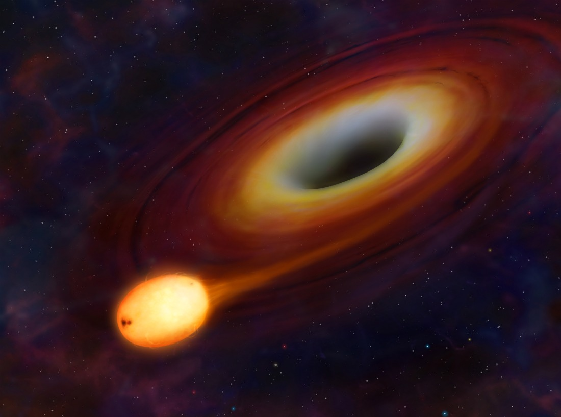 Q: What would happen if a black hole passed through our ...